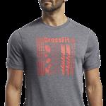 REEBOK CROSSFIT® ACTIVCHILL+COTTON TEE - GRÁR