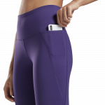 LUX HIGH-RISE LEGGINGS - FJÓLUBLÁAR