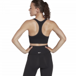 WORKOUT READY SEAMLESS SPORTS BRA - SVARTUR