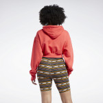 CLASSICS CROPPED HEAVYWEIGHT FRENCH TERRY HOODIE - RAUÐBLEIK