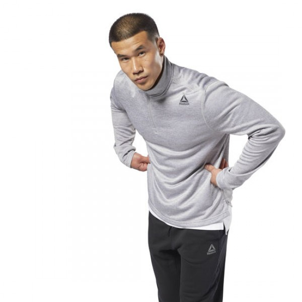 DOUBLE KNITTED QUARTER ZIP