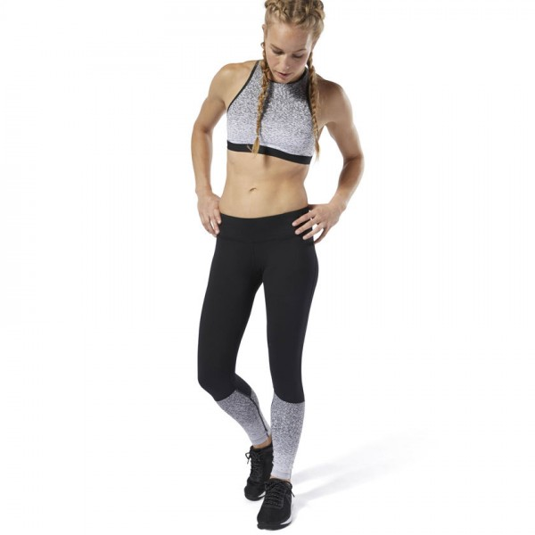 REEBOK CROSSFIT® LUX FADE TIGHTS - SVARTAR