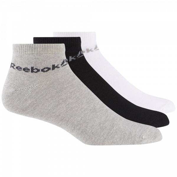 ACTIVE CORE ANKLE SOCKS THREE PACK