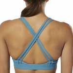 HERO STRAPPY PADDED BRA - BLÁR